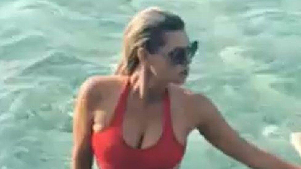 Sophie red swimsuit.JPG