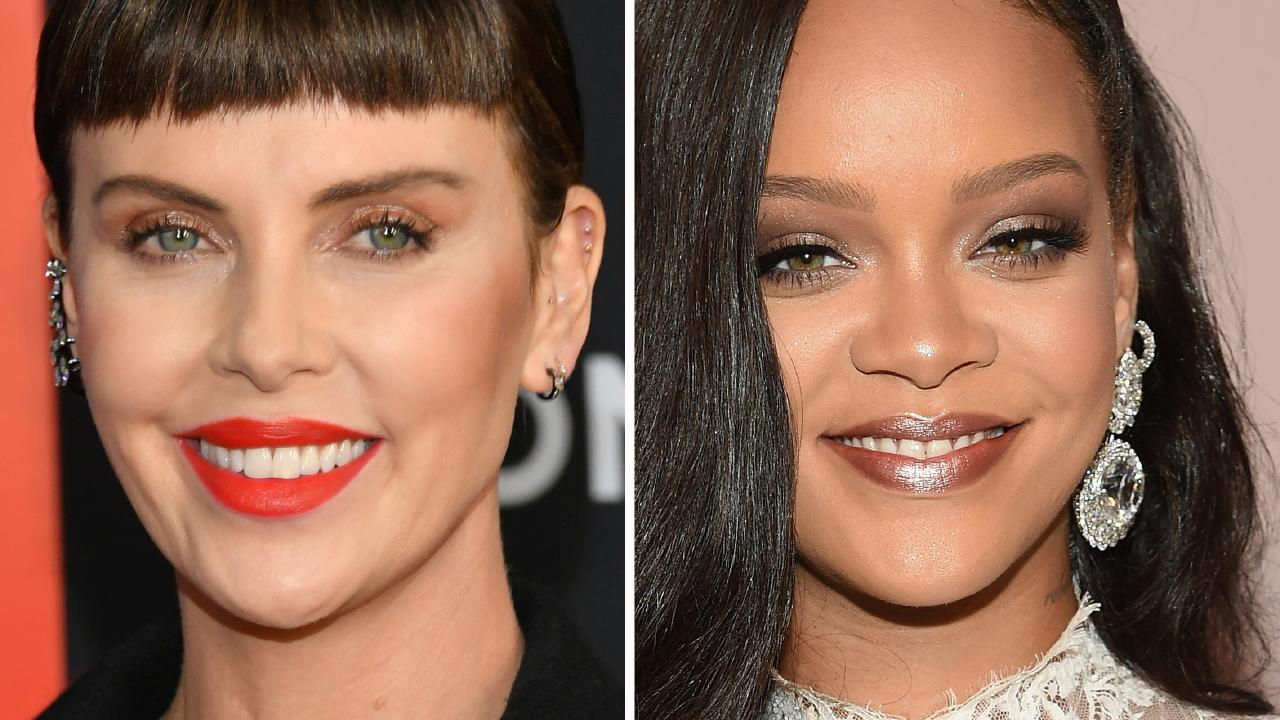 Rihanna trolled Charlize Theron.