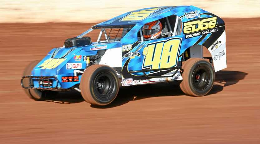 RACE PACE: Nathan Politch always has speed at the Maryborough track.