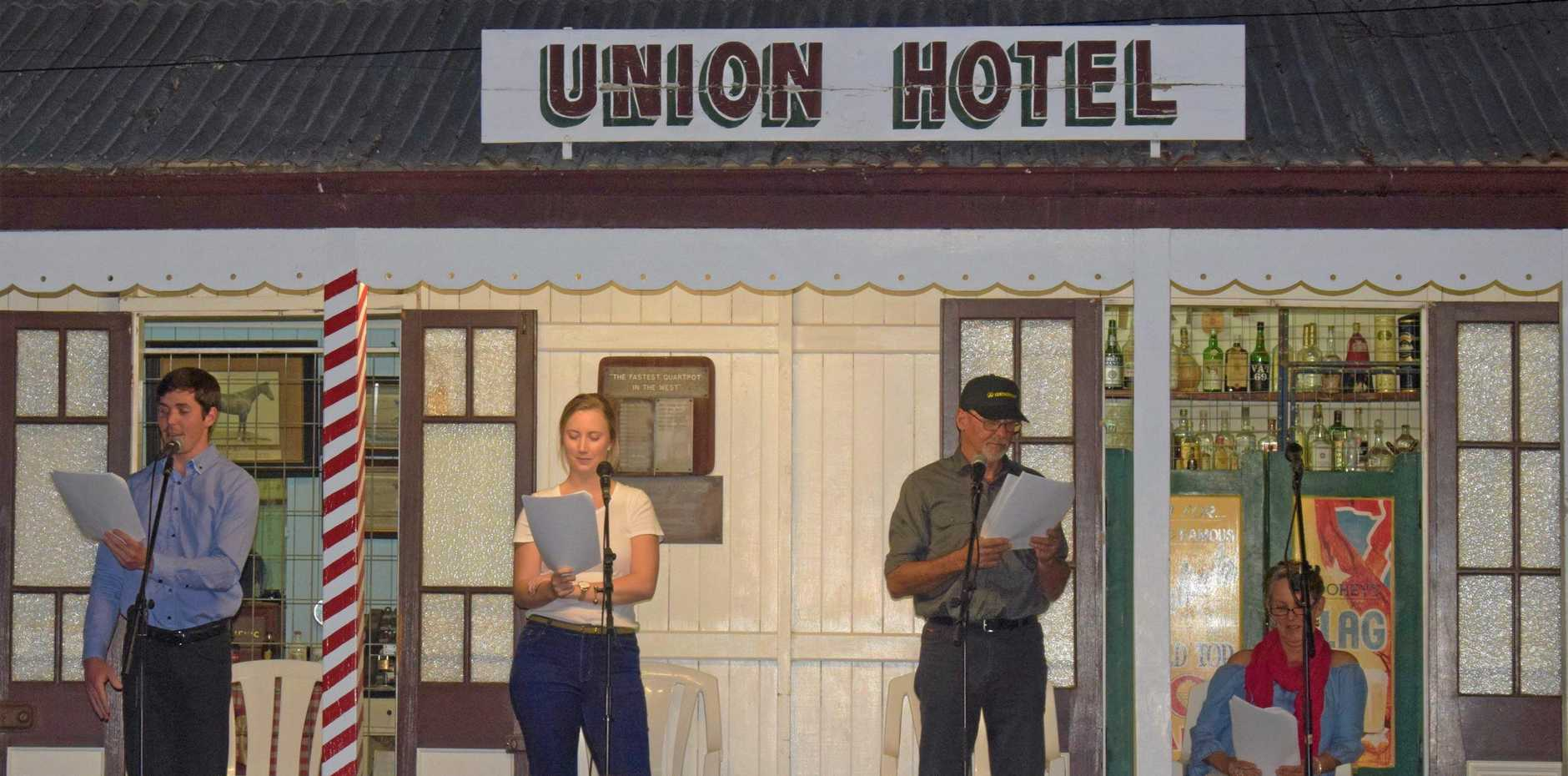 MAGICAL MILES: Last night's radio show was a hit with audience members at the dinner under the stars evening held at the Miles Historical Museum.