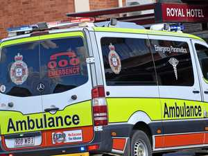 Children hurt in Bruce Highway crash