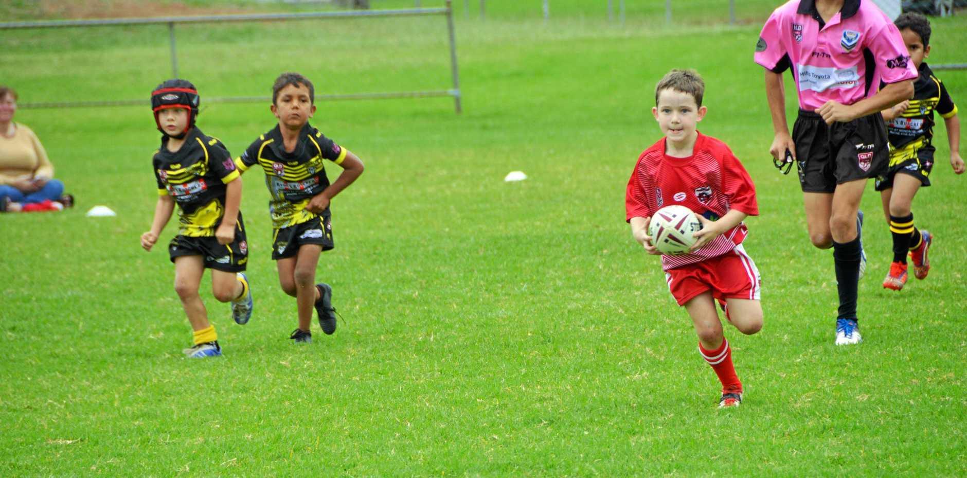 Kingaroy played Wondai, at Kingaroy on Saturday May 4.