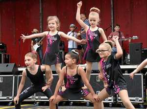 GALLERY: Local dancers unveil new routine at Orange Festival