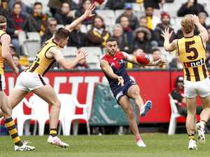 Demons keep their season alive with win over Hawthorn
