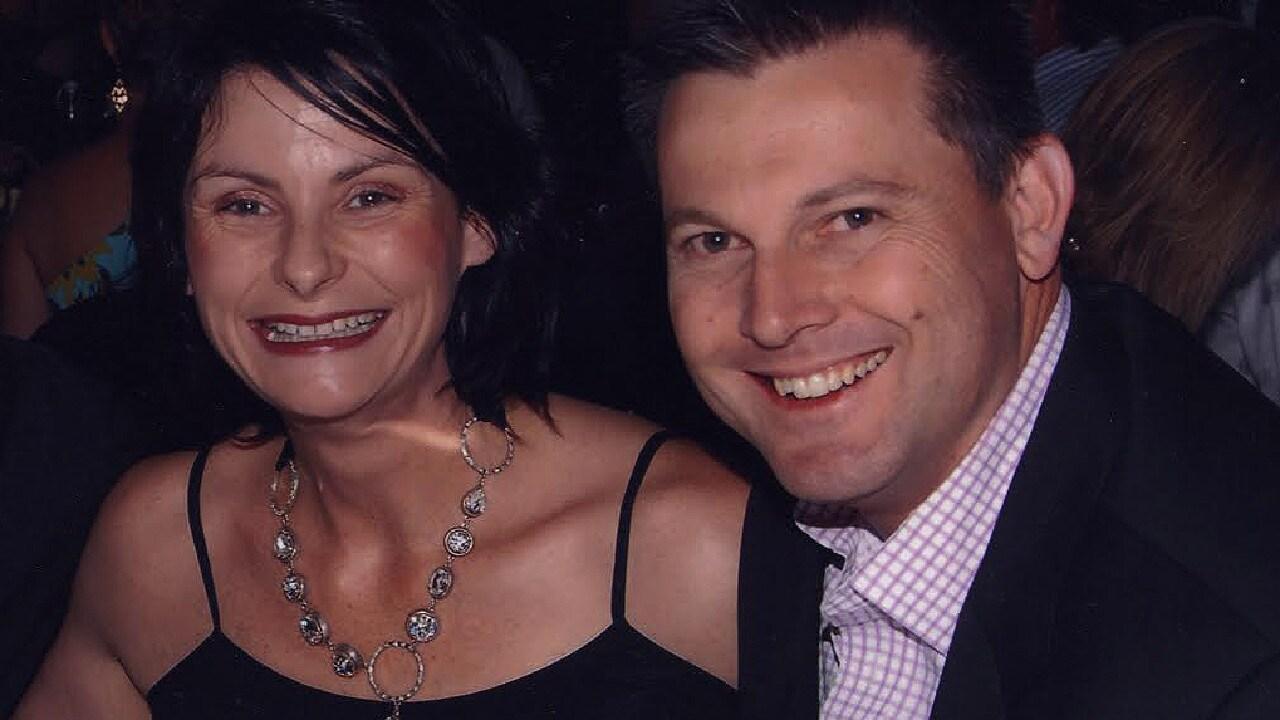 Toni McHugh with Gerard Baden-Clay