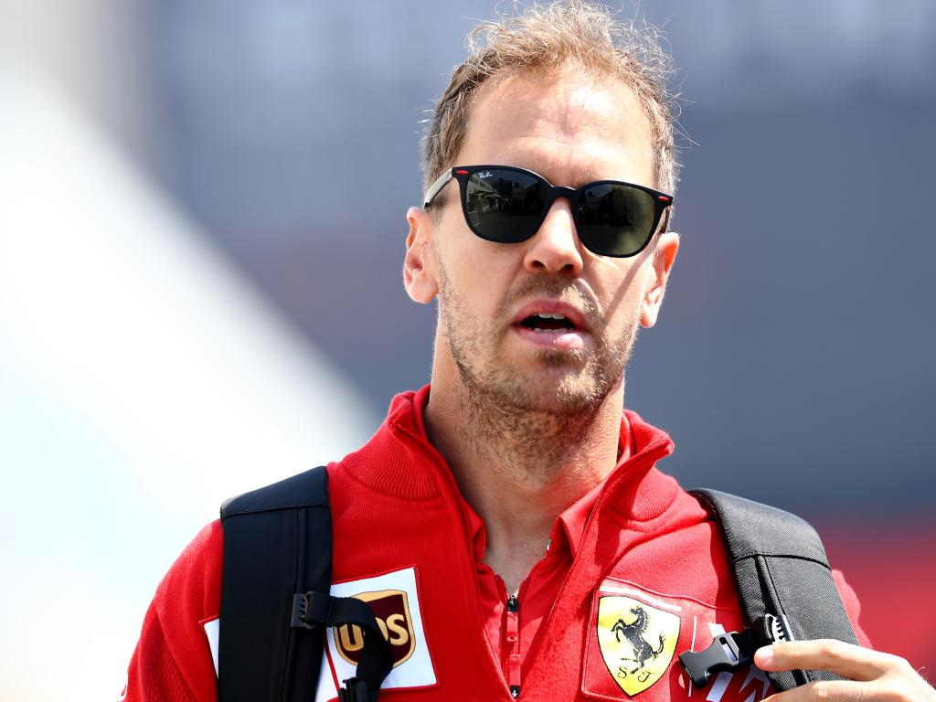 Sebastian Vettel likes it when things are running his way. Picture: Mark Thompson/Getty