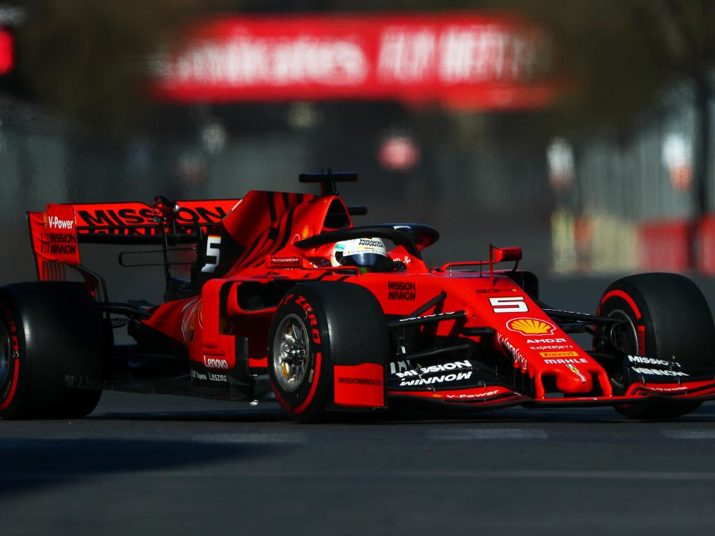 Sebastian Vettel hasn't tasted much success in Ferrari.