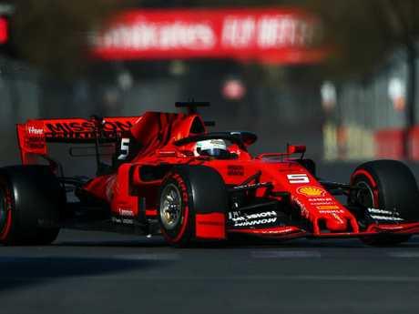 Sebastian Vettel hasn't tasted much success in Ferrari.