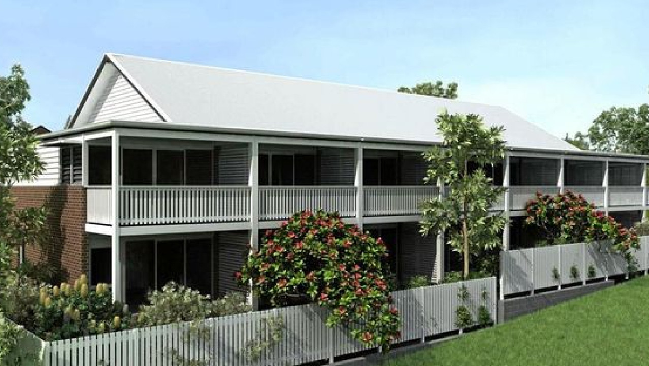 The proposed $2.9 million housing development at Bangalow.