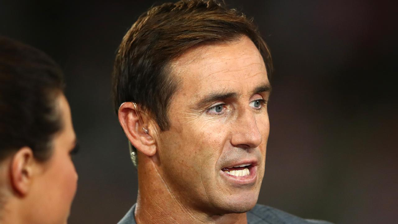 Rugby league Immortal Andrew Johns has put the heat on Cameron Smith. Picture: Cameron Spencer/Getty Images