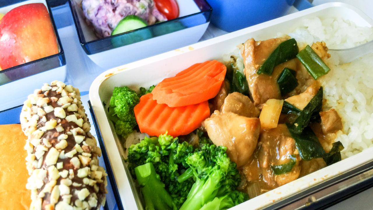 An American Airlines spokesman said some meals have a one year shelf life.