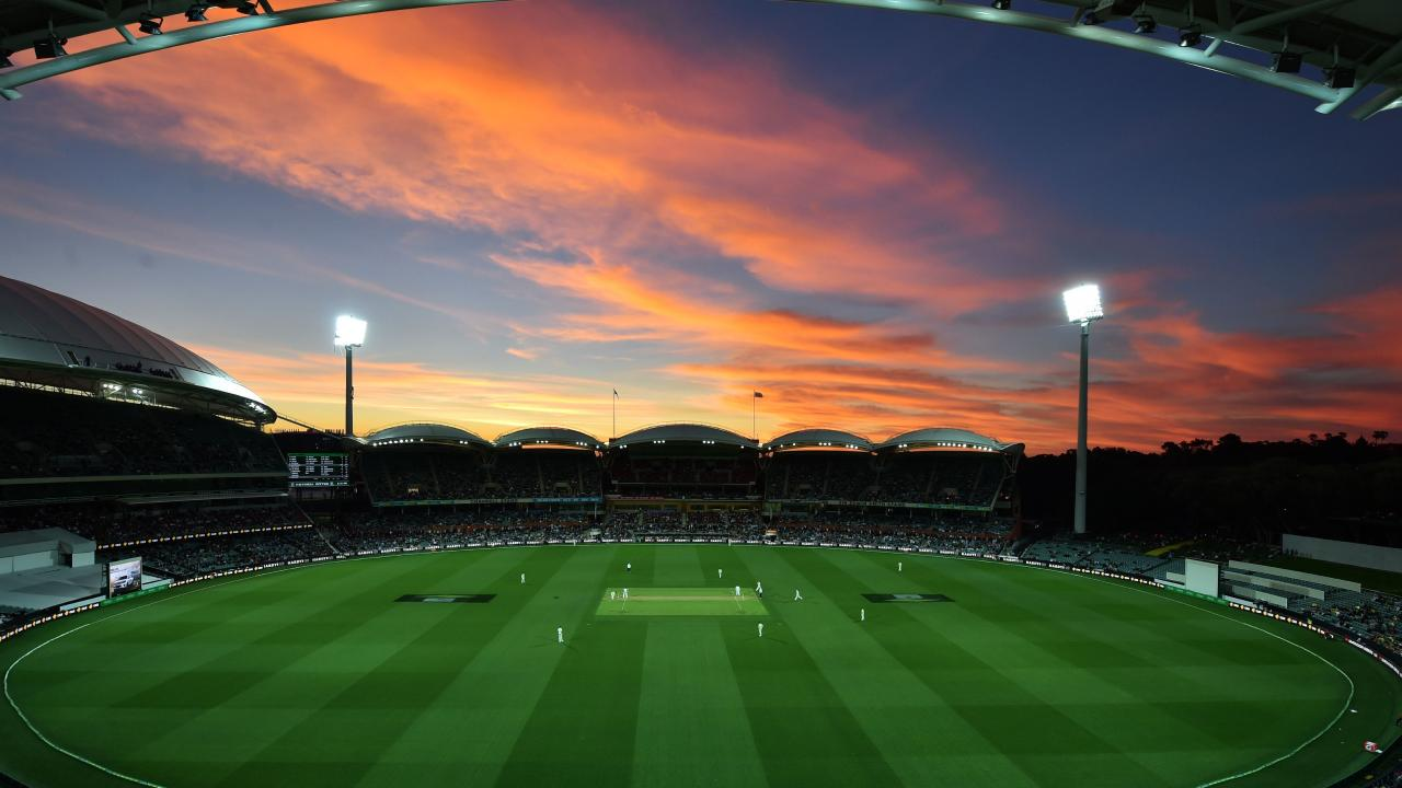 Adelaide (pictured) and Perth will host back-to-back day-night Tests. Picture: AFP