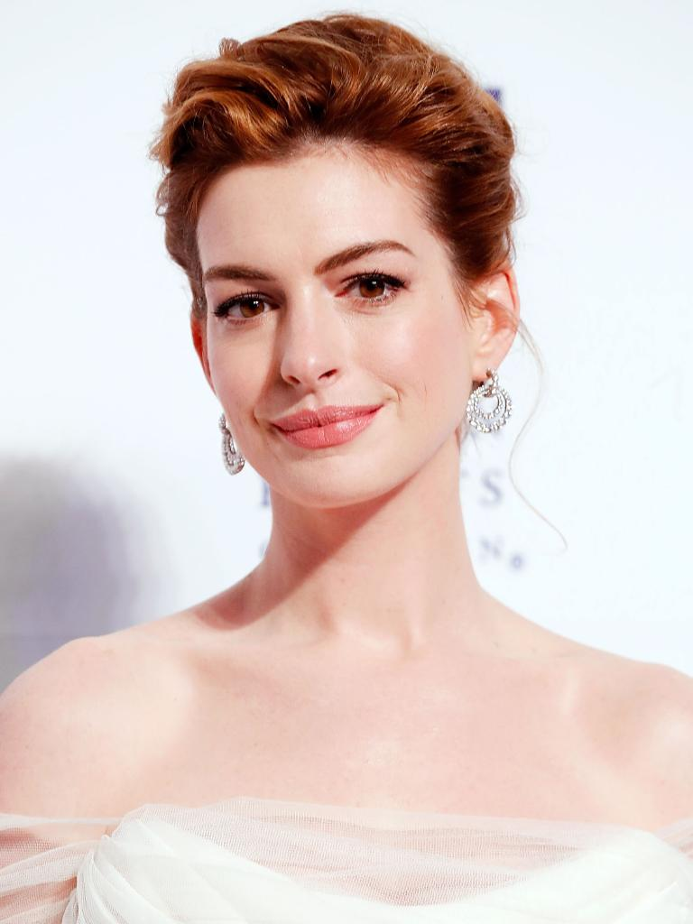 "Anne Hathaway liked playing the ""bad girl"" con artist in The Hustle. Picture: Paul Morigi/Getty"