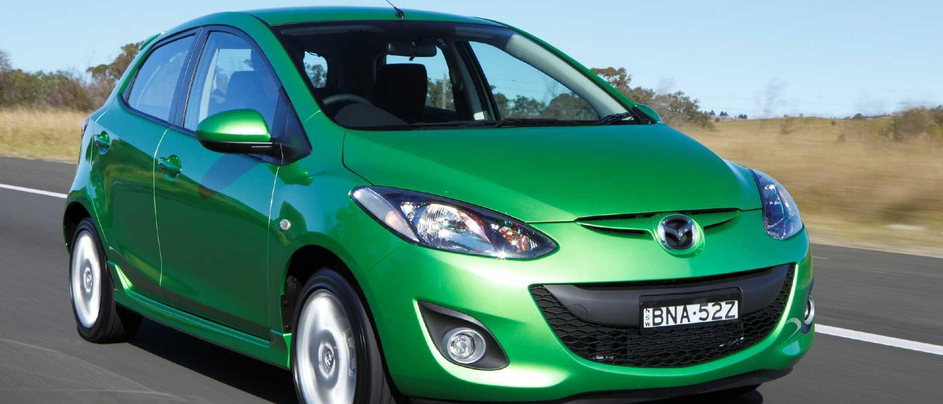 First car: Mazda2