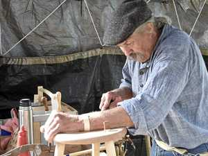 Master artisans ply their ancient trades in Toowoomba