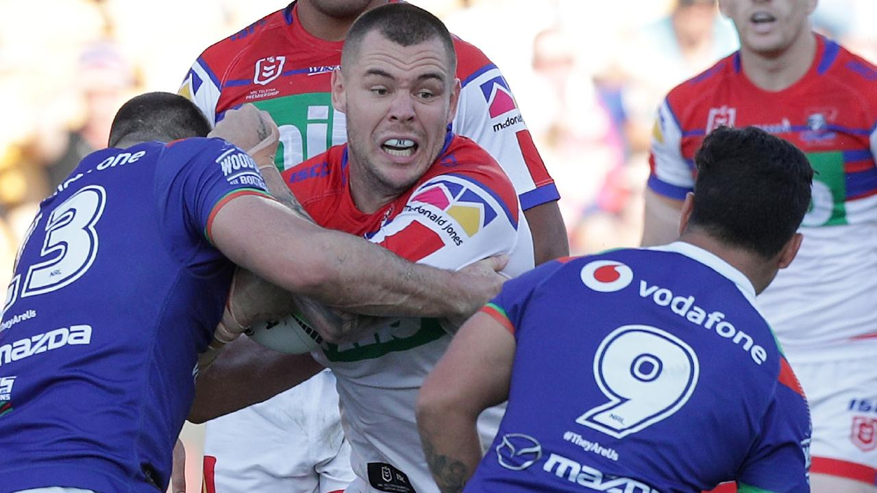 David Klemmer had another big game for the Knights. Picture: AAP