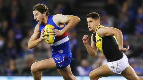 Marcus Bontempelli is in hot form. Picture: Getty Images