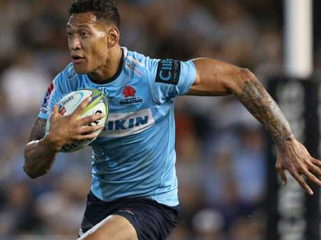 Folau's future is yet to be decided.