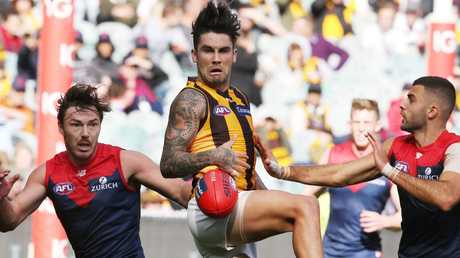 Chad Wingard's form has been poor this season. Picture: Michael Klein