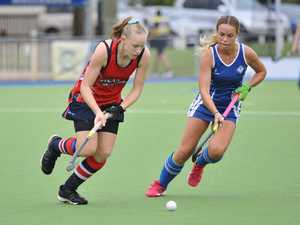 Maryborough Hockey - Wallaroos v Tinana