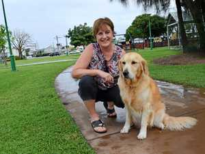 Banana shire dogs take the lead in cancer fund-raising walk
