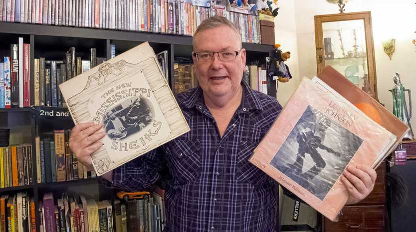 VINYL RESURGENCE: USQ Senior Lecturer in Media Studies Daryl Sparkes says rarity is what makes albums more valuable, but the sound is what really matters.