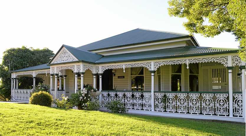 Heritage home Lakemba is one of three houses that will open as part of the Heritage Festival's 'Great Houses of Ipswich 2015. Photo: Rob Williams / The Queensland Times