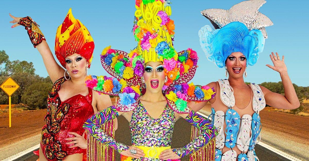 GREAT SHOW: The Sydney production, Prada's Priscillas, will be performing at the Ipswich Civic Centre on May 11.