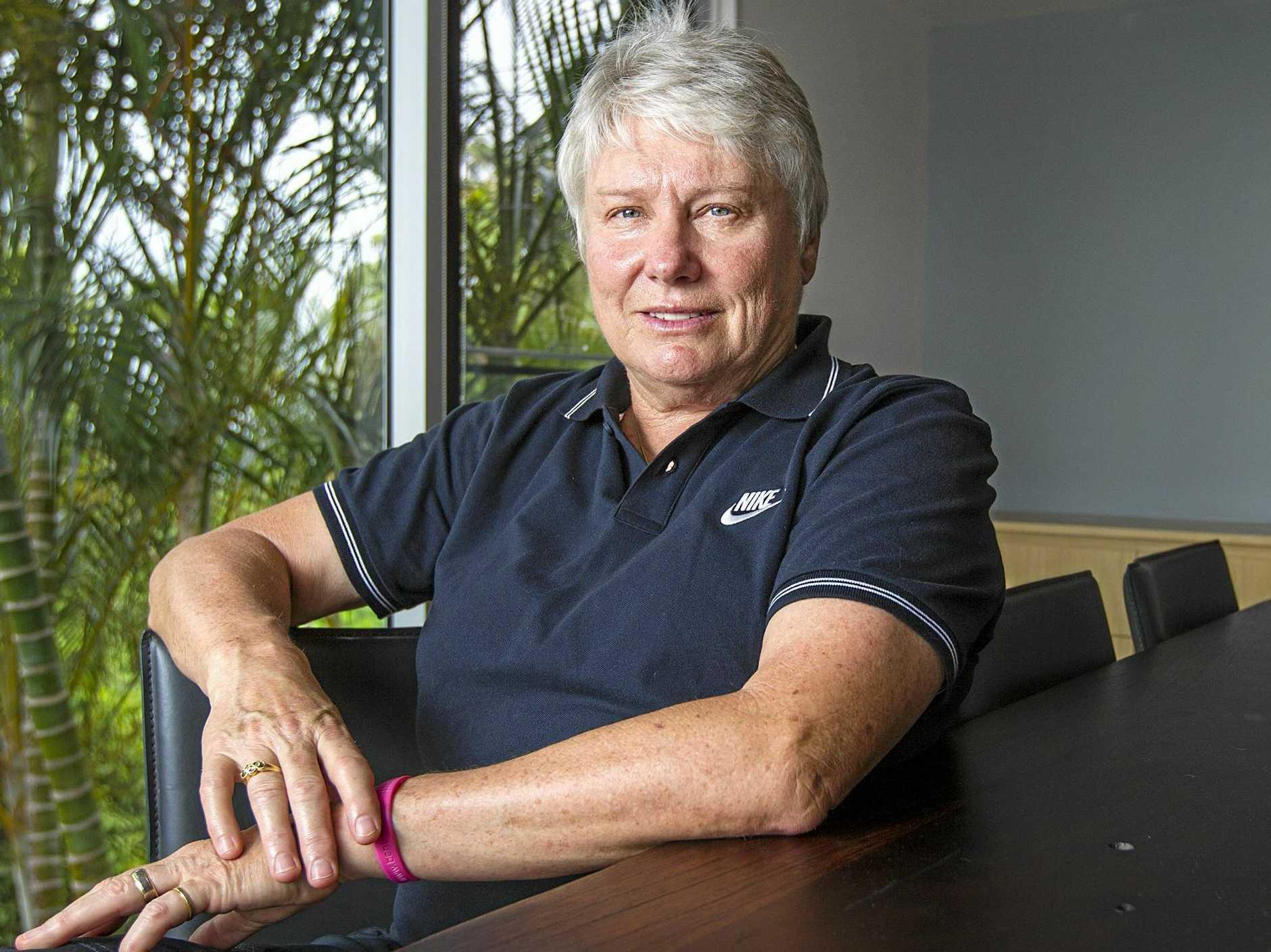 Former Australian Olympian Raelene Boyle