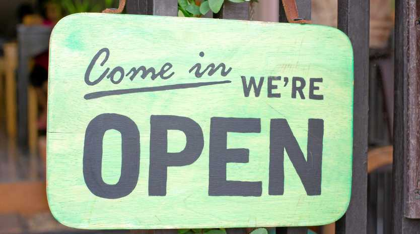 All the stores we know are open and closed today