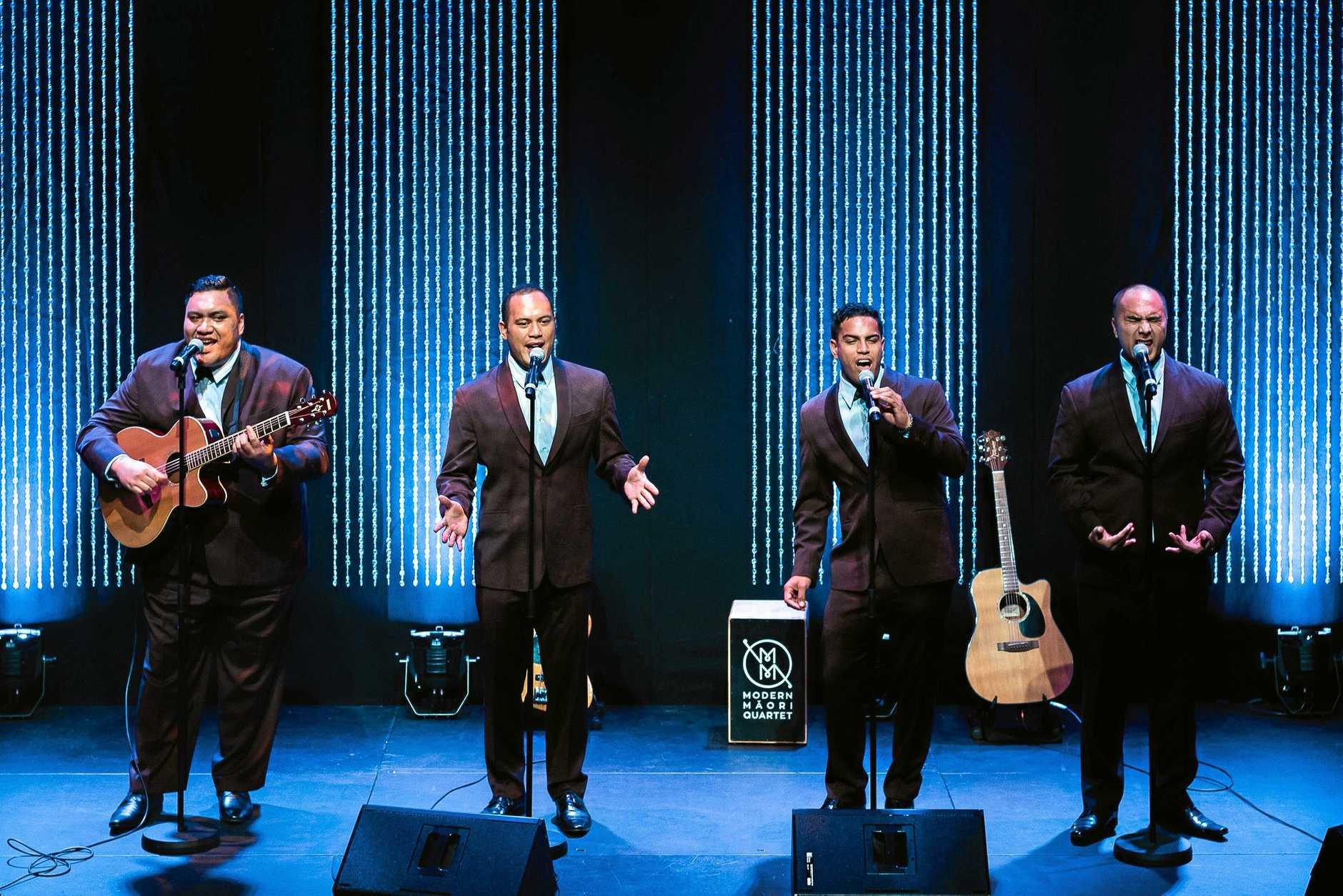 Modern Maori Quartet.