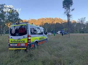 Bushwalker rescued at Cania Gorge