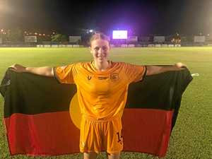 Nanango player features in historic win in the NT