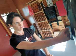 Women's-only self-defence class a hit in Toowoomba
