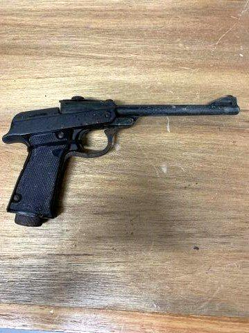 A gun was seized as part of Operation Quebec Ire