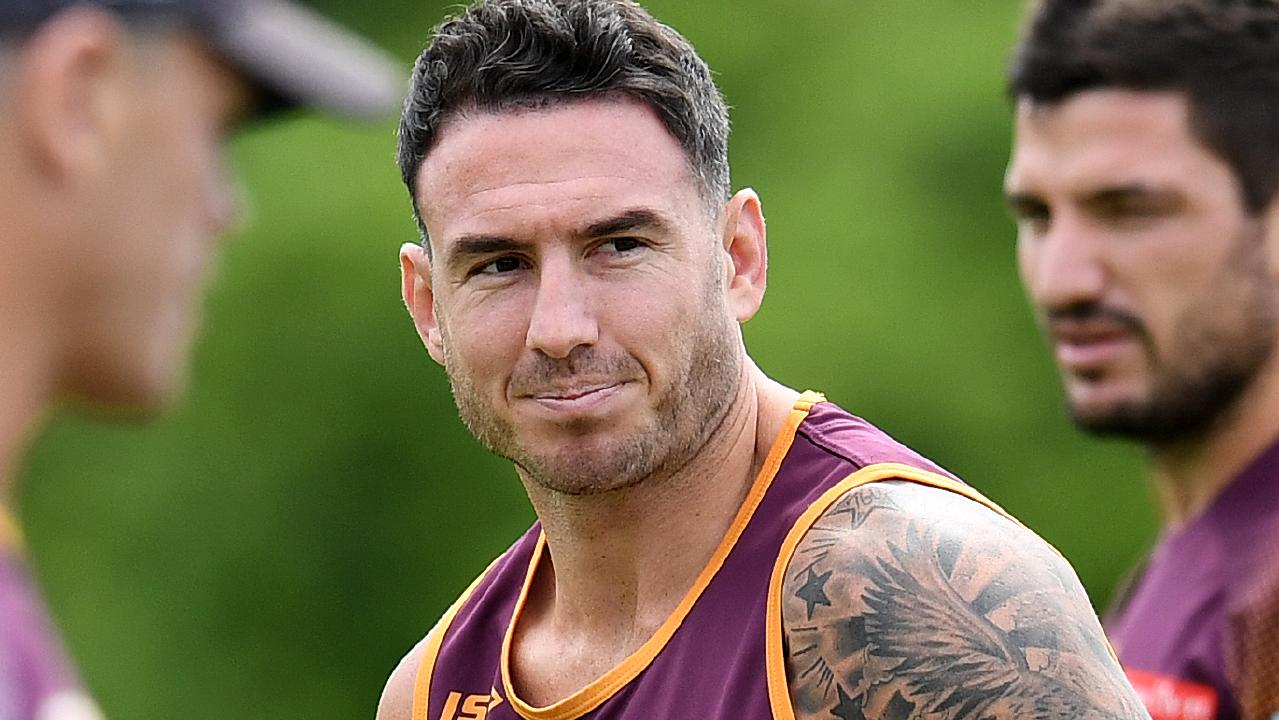Broncos captain Darius Boyd could be the next Brisbane player in coach Anthony Seibold's sights. Picture: AAP/Dan Peled)