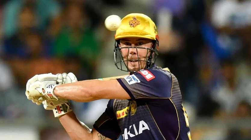 Kolkata Knight Riders have been knocked out of the IPL despite Chris Lynn's best efforts.