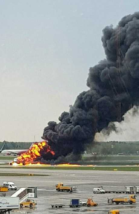 An anonymous source told Russian news outlet Interfax the plane landed with its fuel tanks full. Picture: Riccardo Dalla Francesca via AP.
