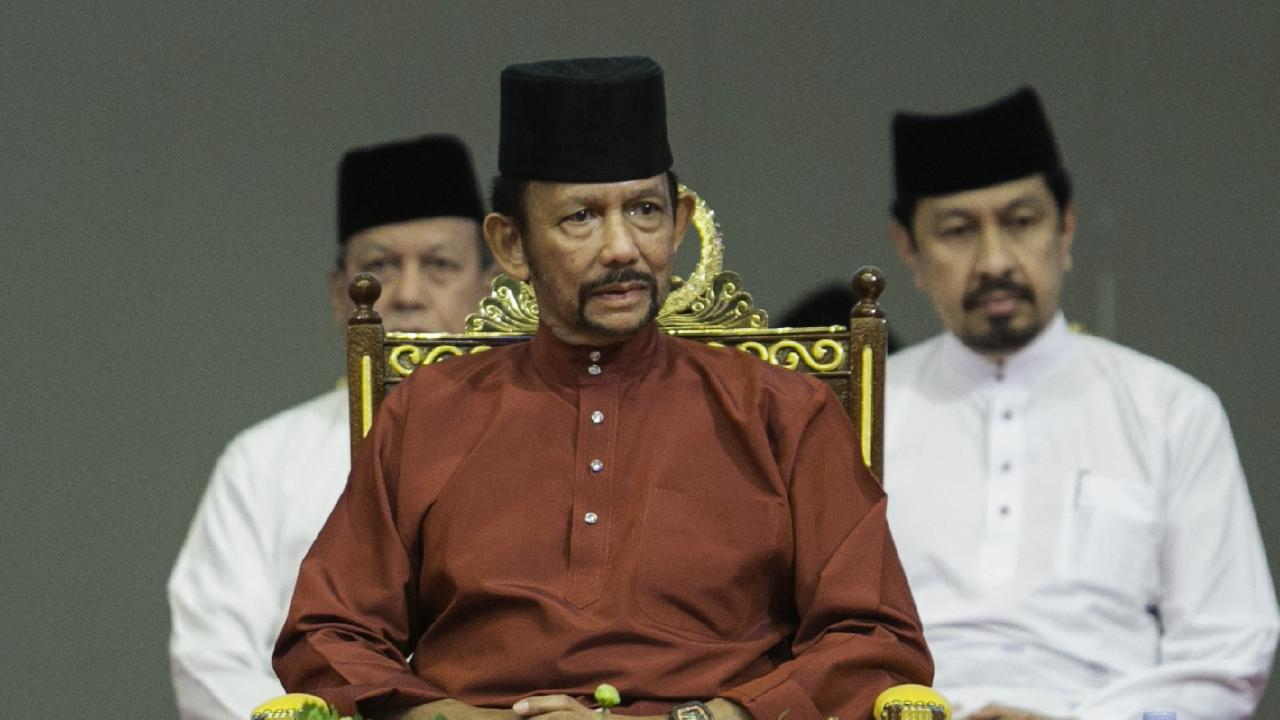 Brunei backtracks on laws making gay sex punishable by death. Picture: AFP