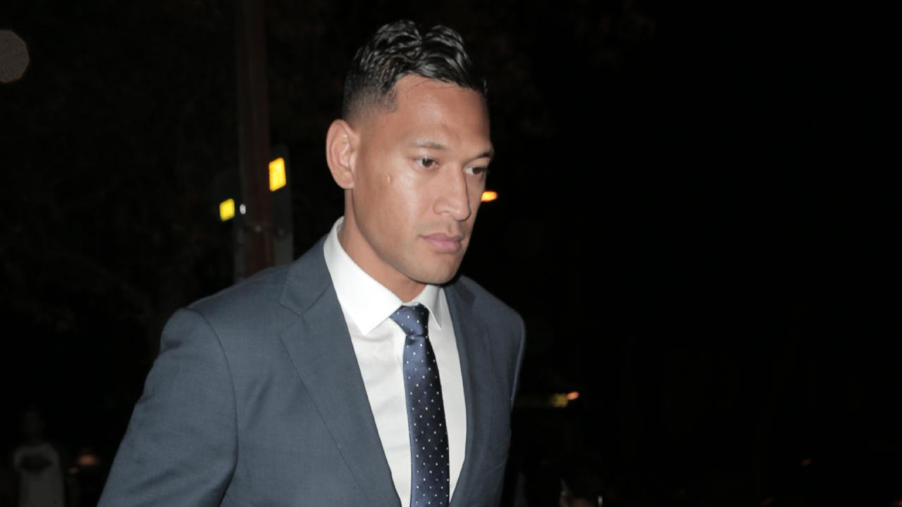 It remains to be seen what will happen to Folau. Picture: Matrix Media Group