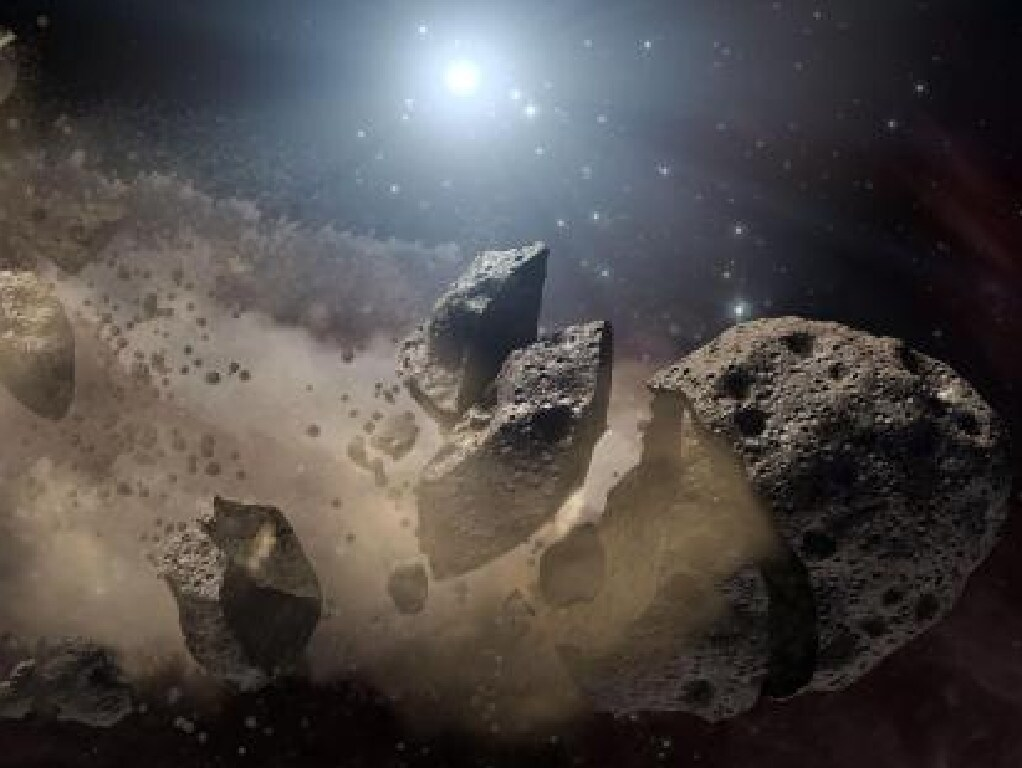 Planetary defence experts want to know if it is possible to evacuate a city of 10 million people if a giant asteroid is on its way to earth. Picture: Supplied