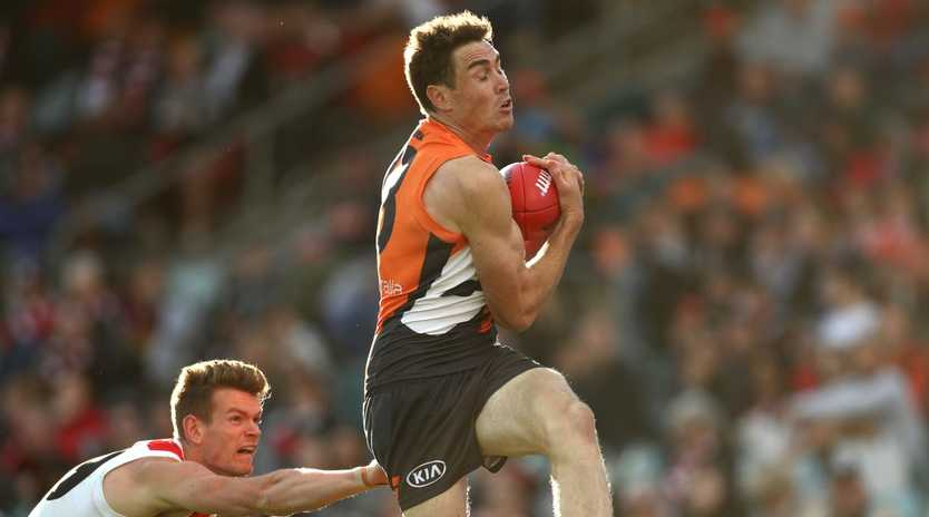 Matthew Lloyd says GWS can't afford to lose big-marking forward Jeremy Cameron. Picture: Getty Images