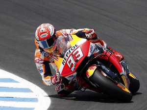 Marquez wins French MotoGP for rare double