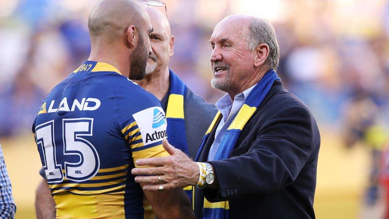 Ray Price wants Parramatta to get it right. Image: Mark Kolbe/Getty Images