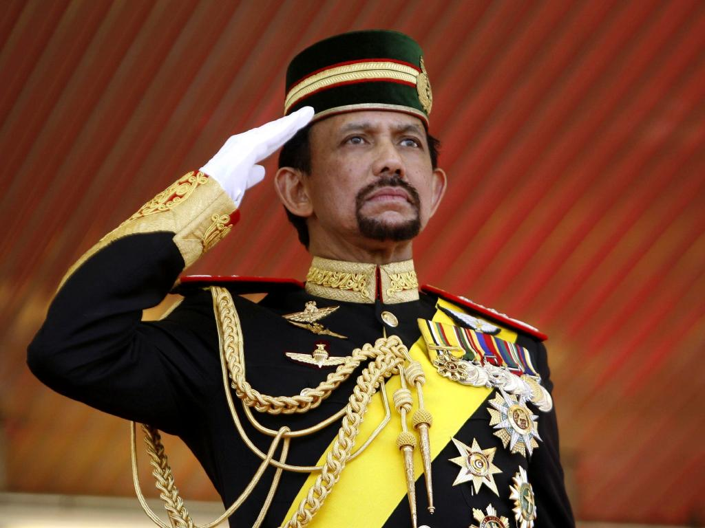 Sultan of Brunei, Hassanal Bolkiah, has announced a moratorium on the death penalty for gay sex. Picture: Alain Benainous/Gamma-Rapho via Getty Images