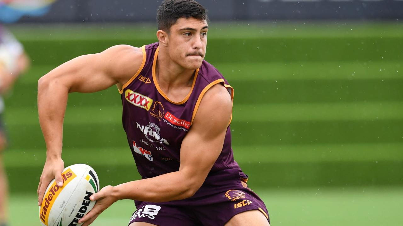Kotoni Staggs could be set for a Broncos recall. Picture: AAP