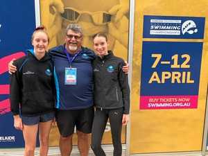 Young swimmers test their strength at nationals