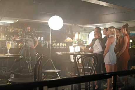 Rockhampton's Dominic and Alex Russell's short film  Come Correct  was filmed at Melba's Lounge in the Giddy Goat in 2017.