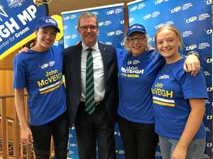 Donation ban hurting John McVeigh's re-election campaign