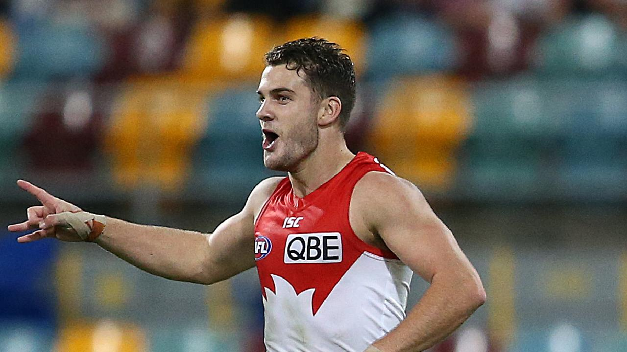 Tom Papley is a key for the Swans. Pic: Getty Images